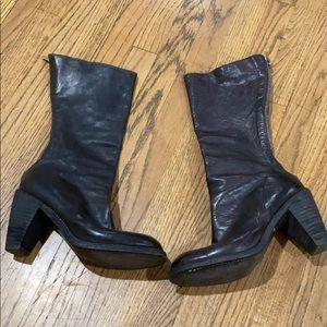 Guidi Heel Boots